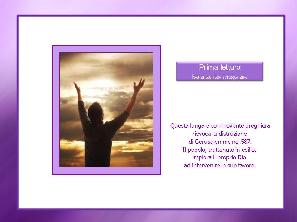 Il Cristo ritornerà per completare l opera di salvezza.