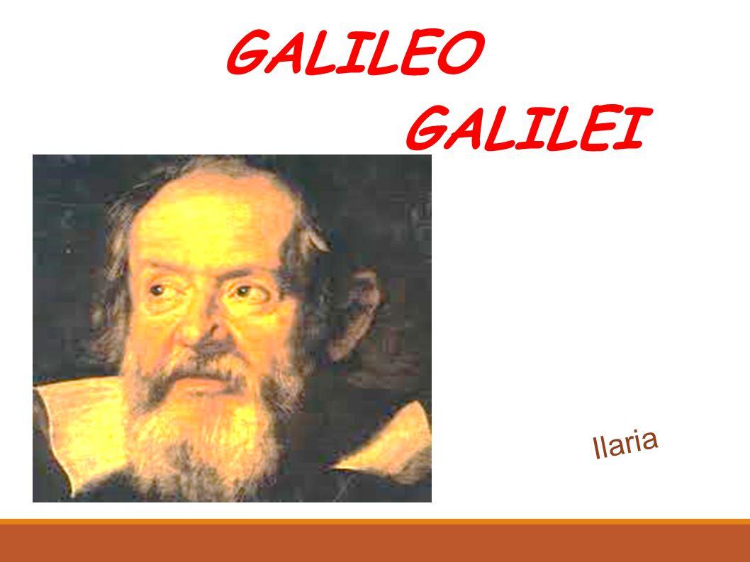 GALILEO GALILEI Ilaria