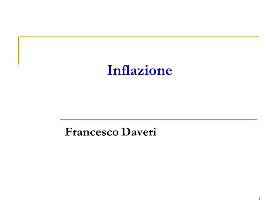 1 Francesco Daveri Inflazione