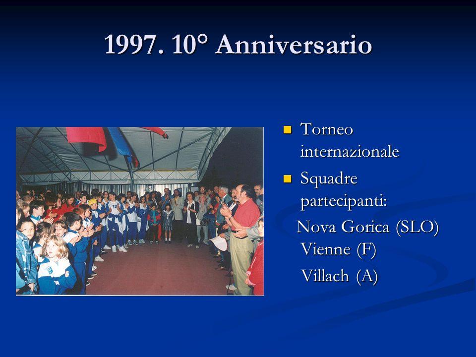 Torneo internazionale Squadre partecipanti: Nova Gorica (SLO) Vienne (F) Villach (A)