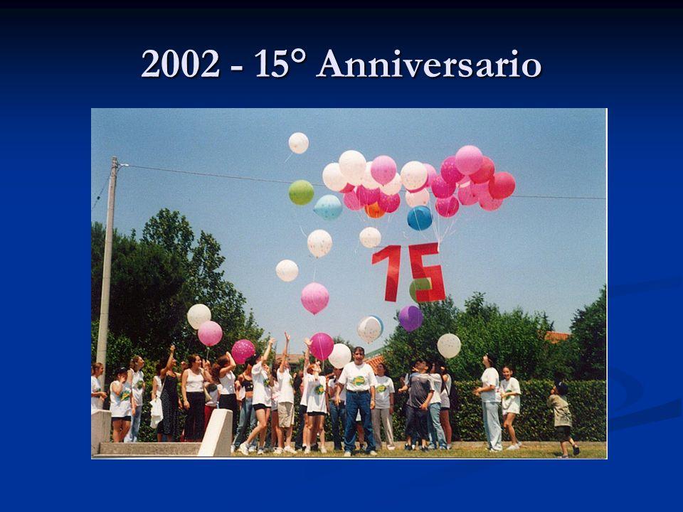 2002 - 15° Anniversario