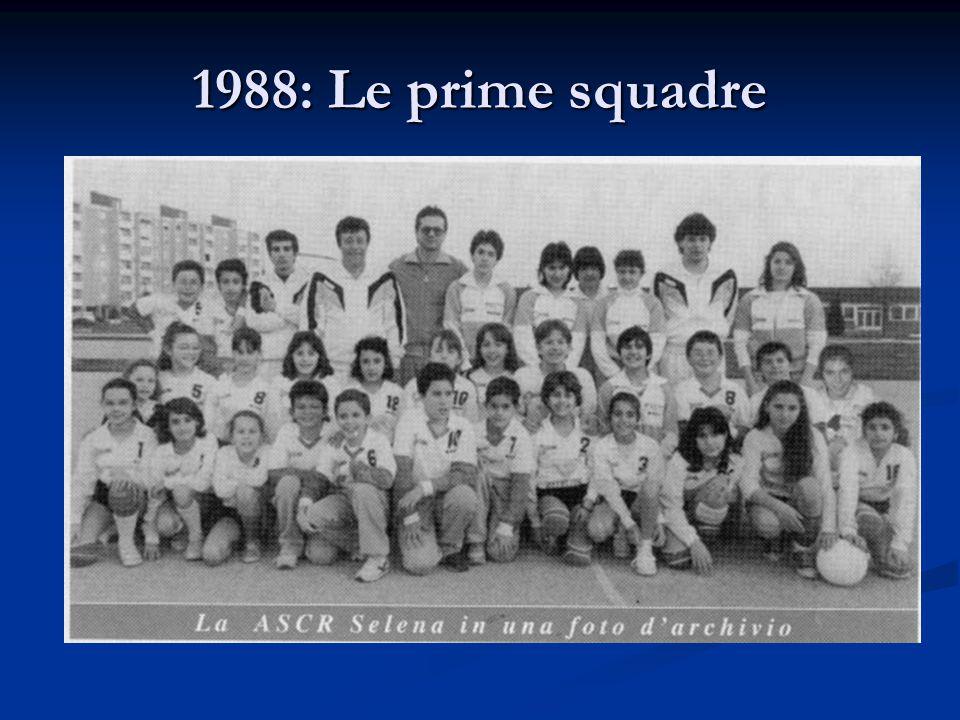 1988: Le prime squadre