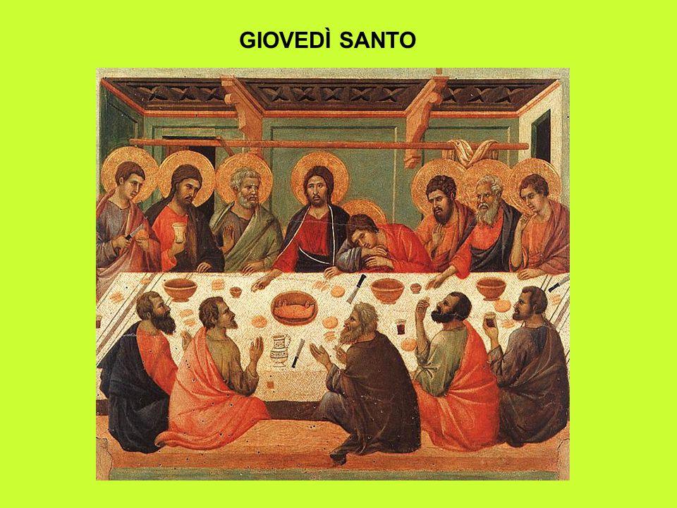 Giovedì Santo: RITI ODIERNI I riti odierni del giovedì santo sono stati rivisti sia dalla prima riforma del 1955 che da quella del Vaticano II.