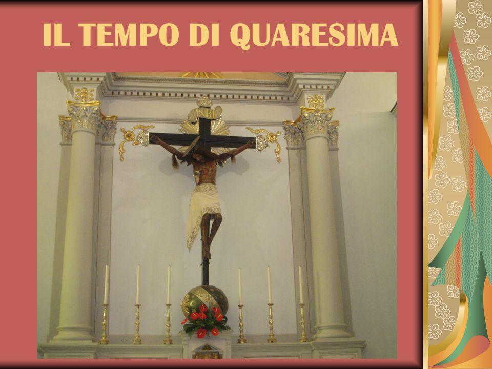 Già nel secolo VII si trova una Quadragesima – 40 giorni dalla I domenica di Quaresima fino a quella di Pasqua una Quinquagesima – 50 giorni contati dalla domenica che precede la I di Quaresima a quella di Pasqua una Sexagesima - 60 giorni che anticipano ancora di una domenica e si concludono, molto sorprendentemente, il mercoledì dell'ottava di Pasqua una Septuagesima – 70 giorni a costo di anticipare ancora d'una domenica e di concludere la II domenica di Pasqua.