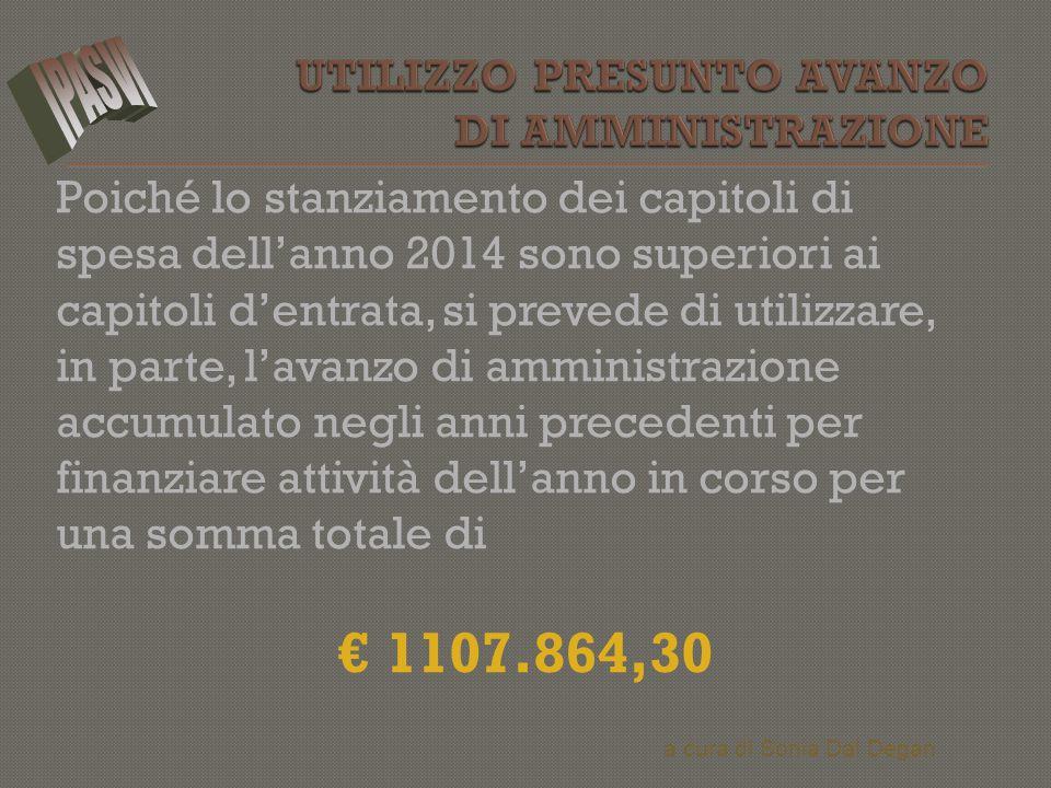  Gli oneri finanziari, ammontano ad € 1.000,00.