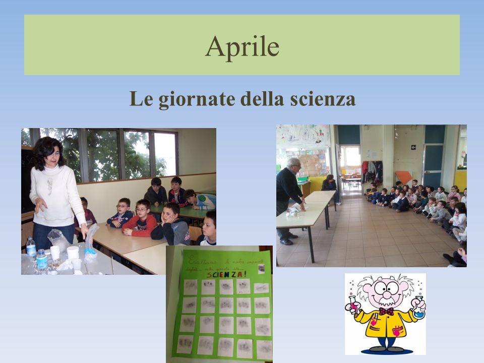 Aprile Le giornate della scienza