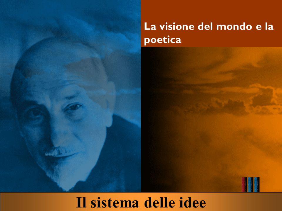 La visione del mondo e la poetica Il sistema delle idee