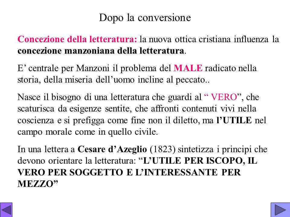 Manzoni e la storia Manzoni rispetta il vero storico.
