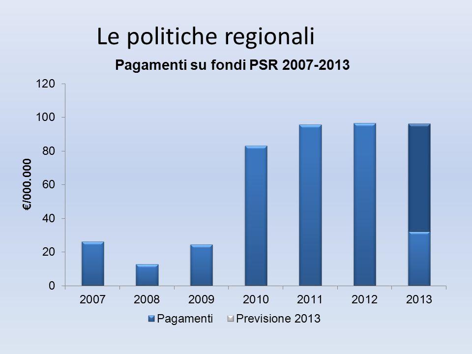 Principali problematiche affrontate nel 2013 Maggiori difficoltà rispetto alle precedenti annualità dovute anche al vuoto governativo nei mesi precedenti al cambio di Giunta.