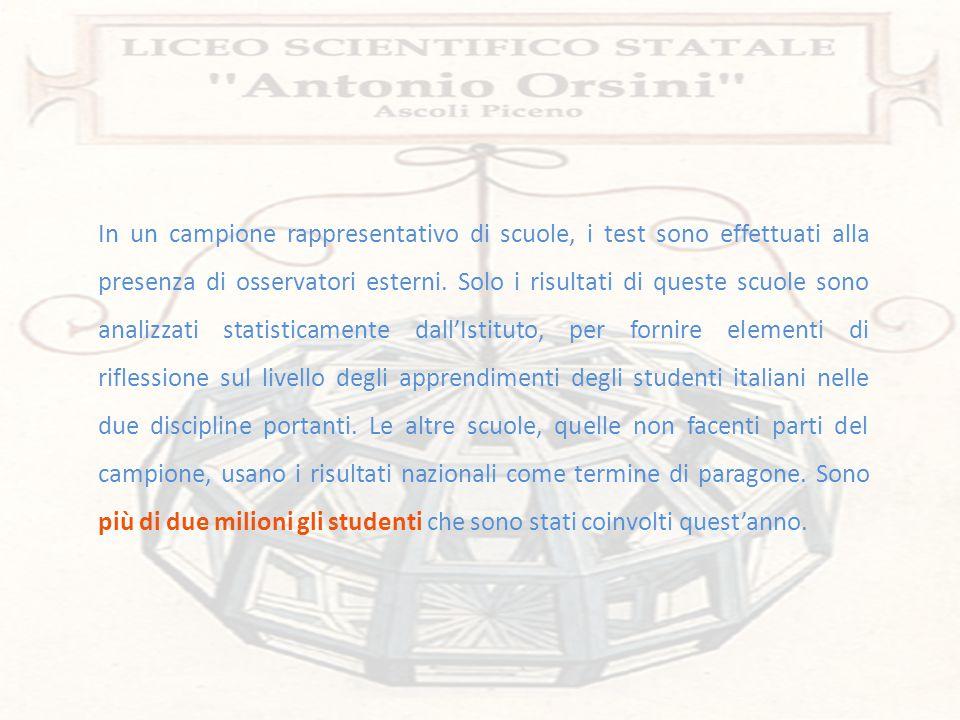 Per la scuola secondaria di secondo grado (classi seconde) la prova di Italiano è composta di cinque sezioni: 1.