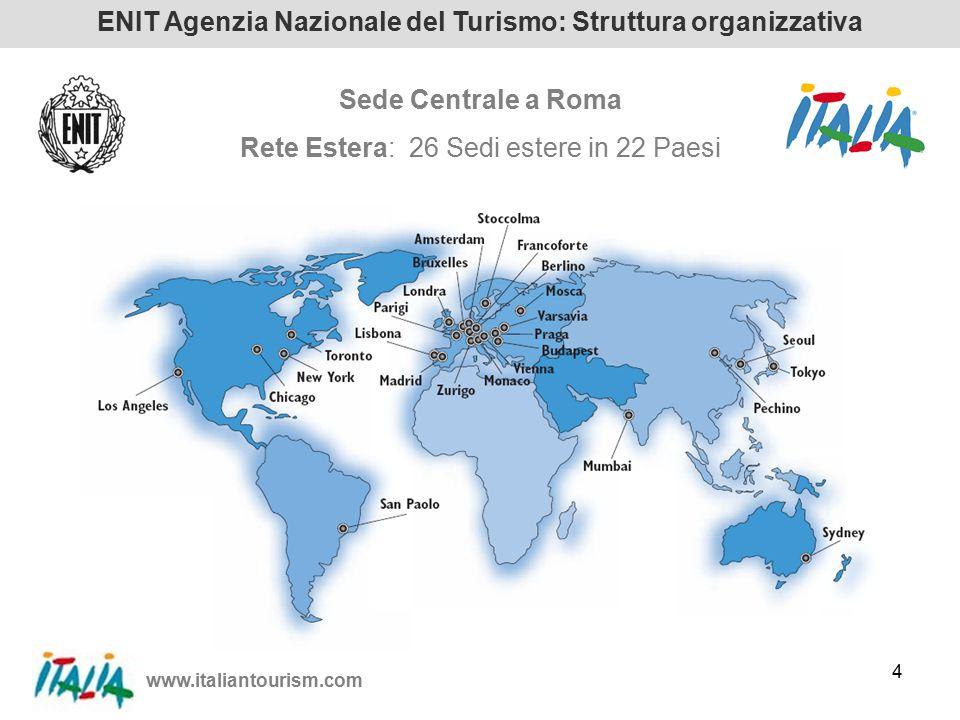 www.italiantourism.com 15 Turisti canadesi in Italia per prodotti% TOUR CLASSICO (Roma / Firenze / Venezia)33,4 CITTA' D'ARTE 21,1 ENOGASTRONOMIA12,6 TURISMO D'AFFARI (Business, Meetings &Incentive)11,0 TURISMO ATTIVO / SPORT (in crescita) 10,1 BALNEARE (principalmente per turismo di ritorno)4,6 LAGHI2,4 WELLNESS / SPAS2,0 MONTAGNA / NATURA1,8 RELIGIONE (in crescita) 1,0 TOTALE100,0