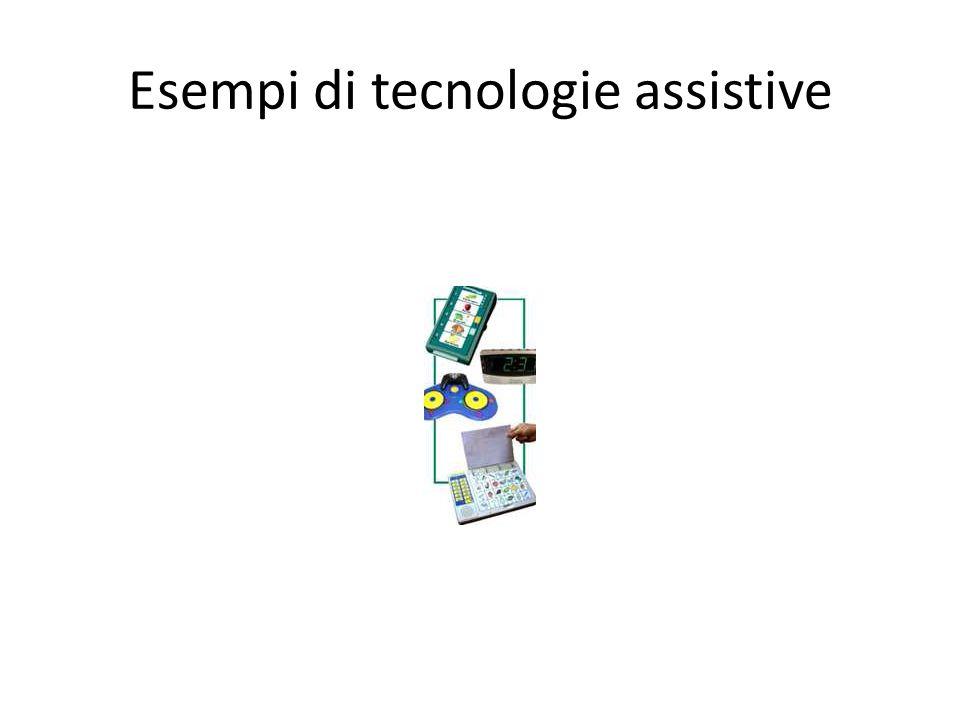 Esempi di tecnologie assistive