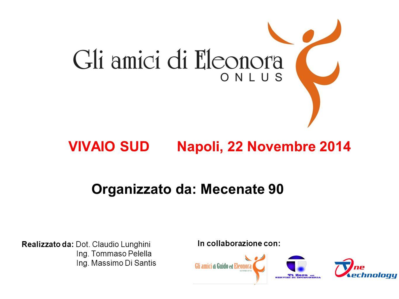 VIVAIO SUD Napoli, 22 Novembre 2014 In collaborazione con: Realizzato da: Dot.