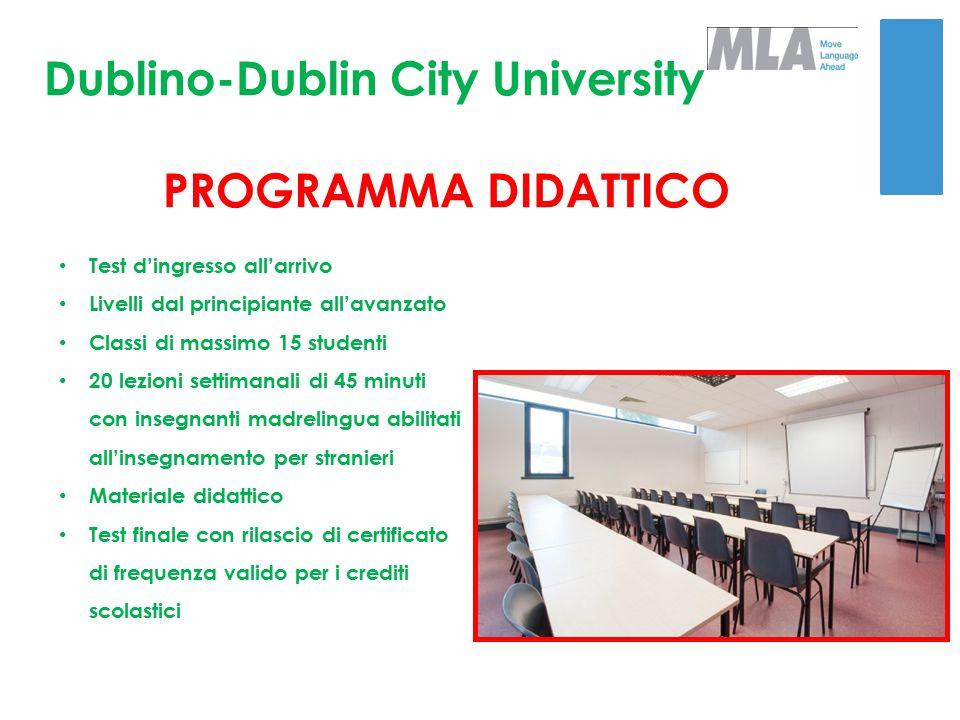 Dublino - Dublin City University IL PROGRAMMA GOLD PLUS: 2 escursioni di un'intera giornata in pullman privato ed assistenza staff madrelingua Visita a Belfast, Walking Tour della città Visita a Kilkenny, Kilkenny Cathedral (ingresso incluso)