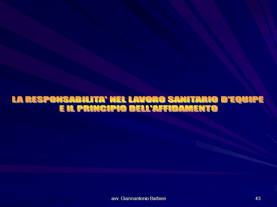 avv. Giannantonio Barbieri 43