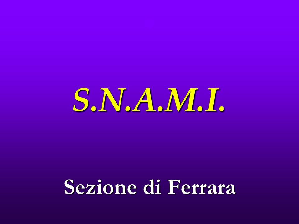 S.N.A.M.I. Sezione di Ferrara