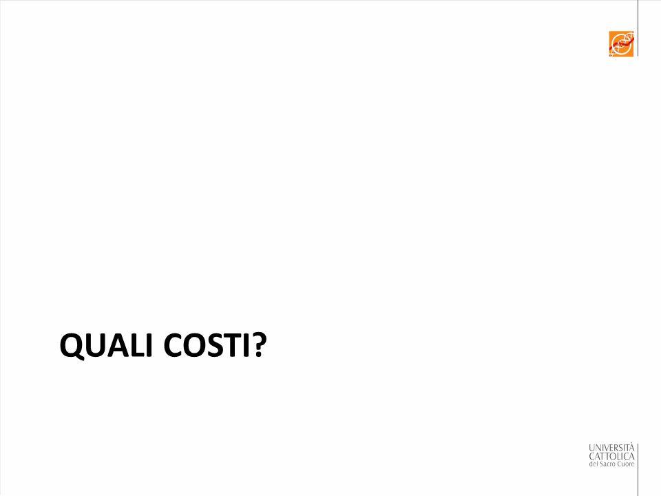QUALI COSTI?