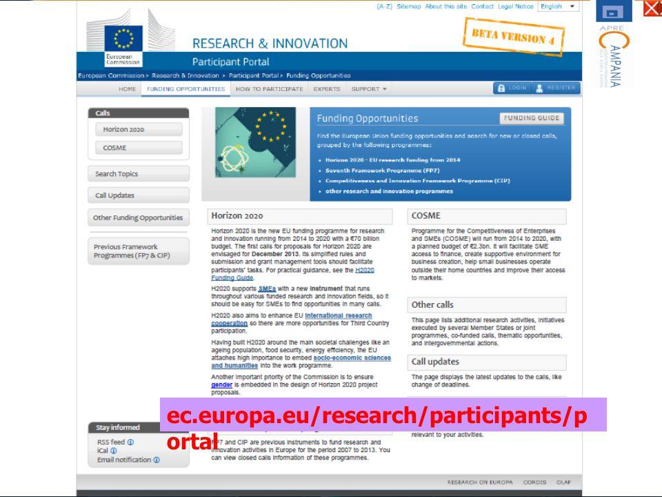ec.europa.eu/research/participants/p ortal