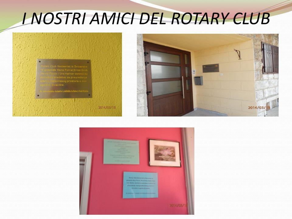 I NOSTRI AMICI DEL ROTARY CLUB