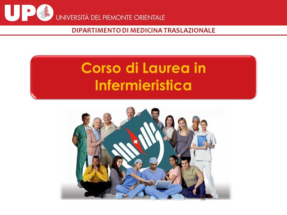 DIPARTIMENTO DI MEDICINA TRASLAZIONALE Corso di Laurea in Infermieristica