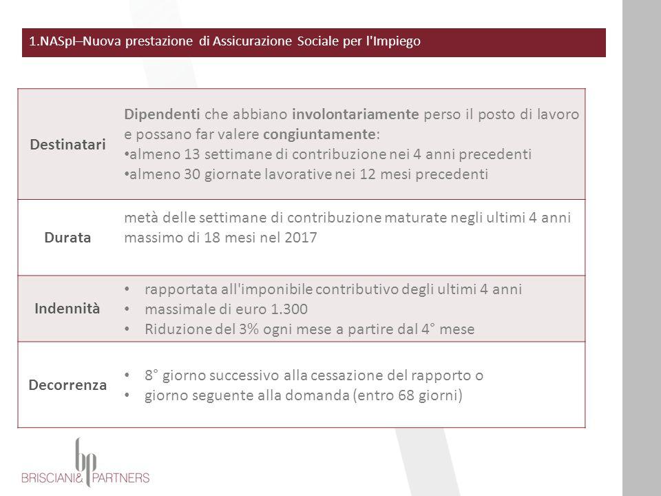 11.CURE TERMALI Art.1,c.301 Dal 1° gennaio 2016 le prestazioni economiche accessorie alle cure termali garantite dal SSN come terapie di prevenzione dell'invalidità non saranno più coperte dall'INPS e dall'INAIL
