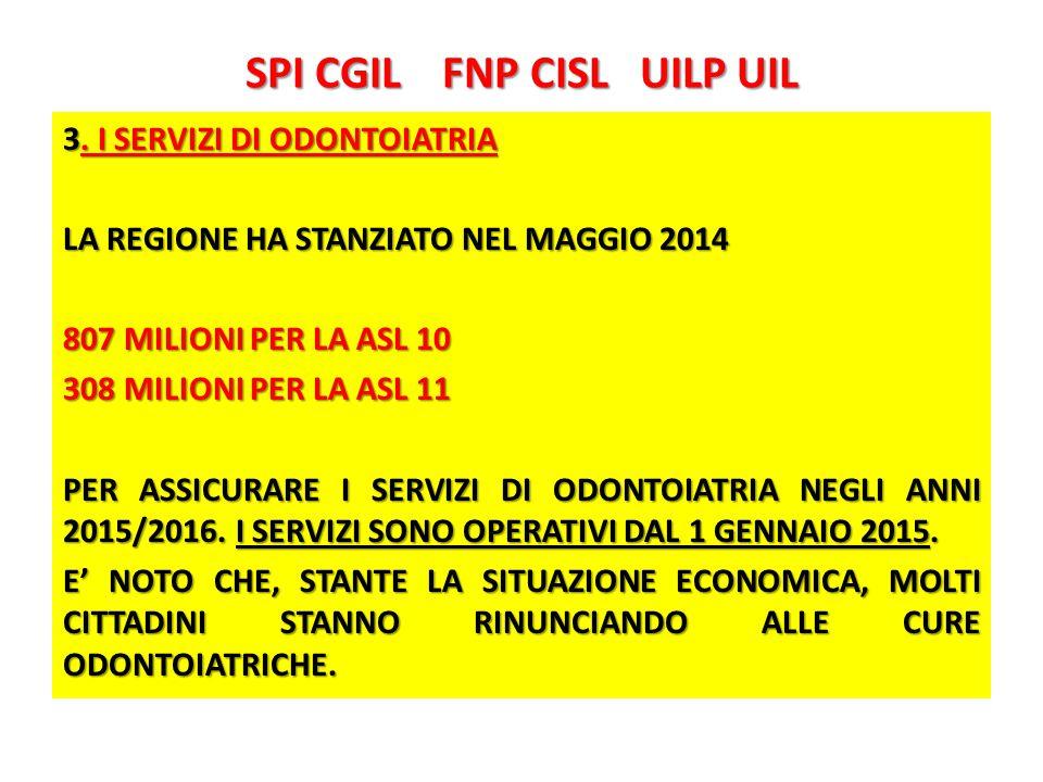 SPI CGIL FNP CISL UILP UIL 3.