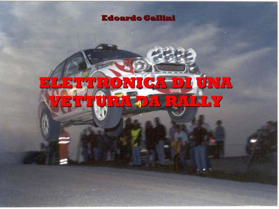 ELETTRONICA DI UNA VETTURA DA RALLY Edoardo Gallini