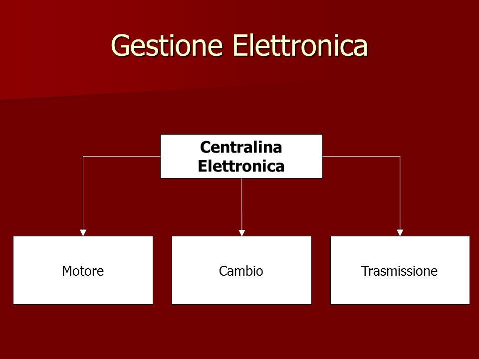 Gestione Elettronica Centralina Elettronica CambioMotoreTrasmissione