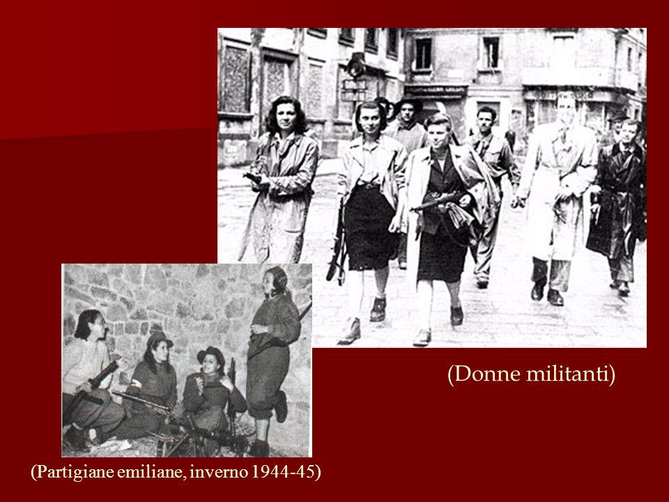 (Partigiane emiliane, inverno 1944-45) (Donne militanti)