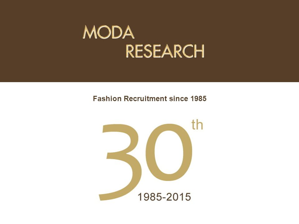 Fashion Recruitment since 1985