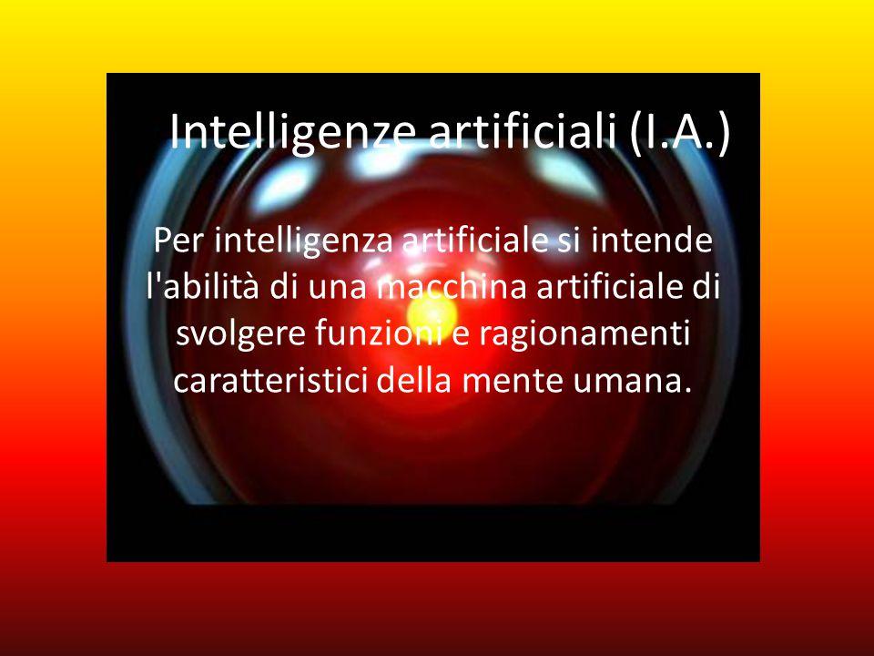 La Storia La storia dell'intelligenza artificiale inizia nel 1642, quando Blaise Pascal inventò una macchina, di nome Pascalina, in grado di eseguire automaticamente addizioni, sottrazioni e, parzialmente, anche moltiplicazioni e divisioni.