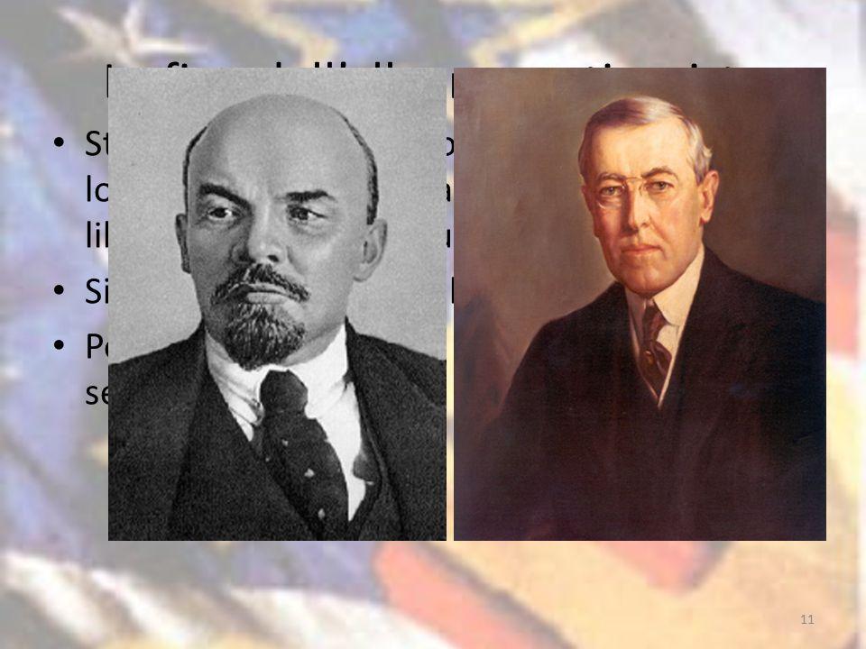 La fine dell'alleanza antinazista Stati Uniti ed Unione Sovietica riscoprono la loro vocazione universalistica: impero della libertà vs.