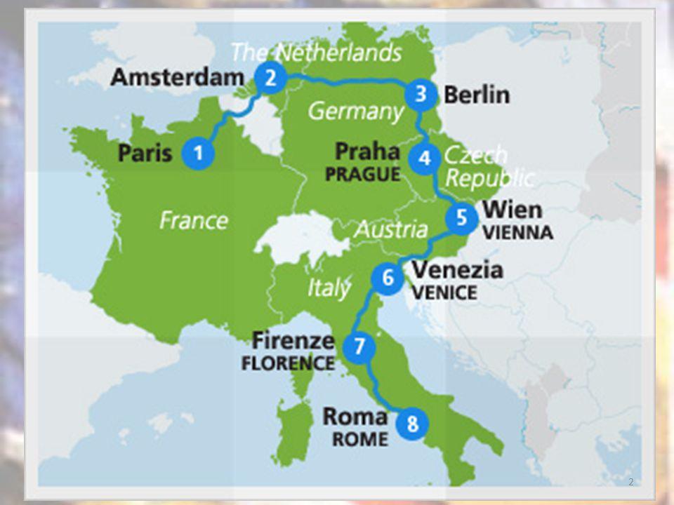 È più a est Vienna o Praga? 2