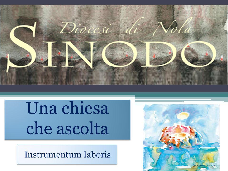 Una chiesa che ascolta Instrumentum laboris