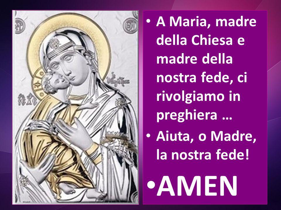 Nella sua vita, Maria ha compiuto il pellegrinaggio della fede, alla sequela di suo Figlio La vera maternità di Maria ha assicurato per il Figlio di D