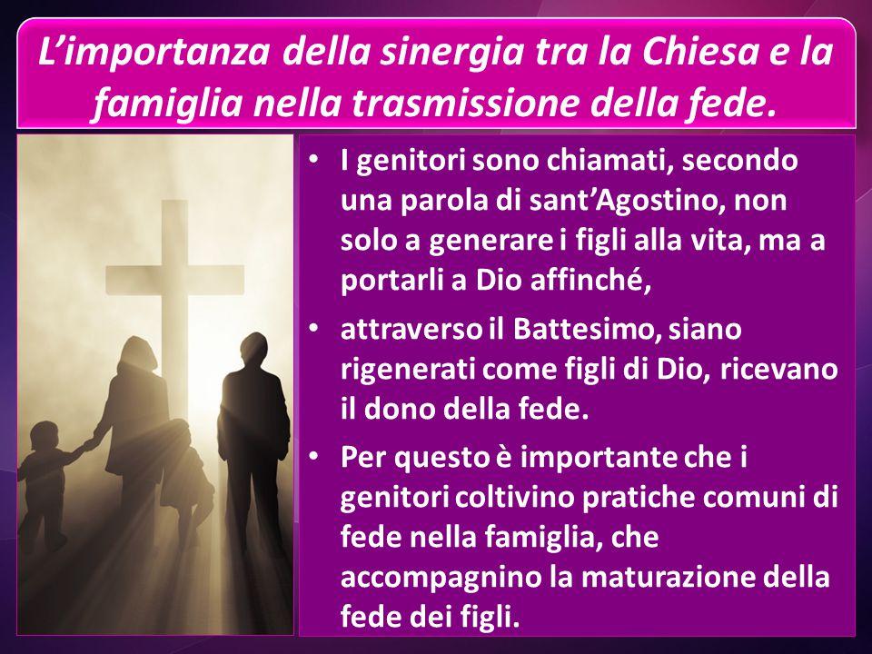 La Chiesa, madre della nostra fede Come i nostri genitori, che ci hanno dato la vita e il nome, il linguaggio, le parole con cui interpretiamo la nost