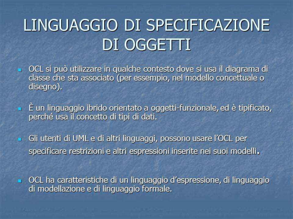 LINGUAGGIO D' ESPRESSIONE È un linguaggio d'espressione puro.
