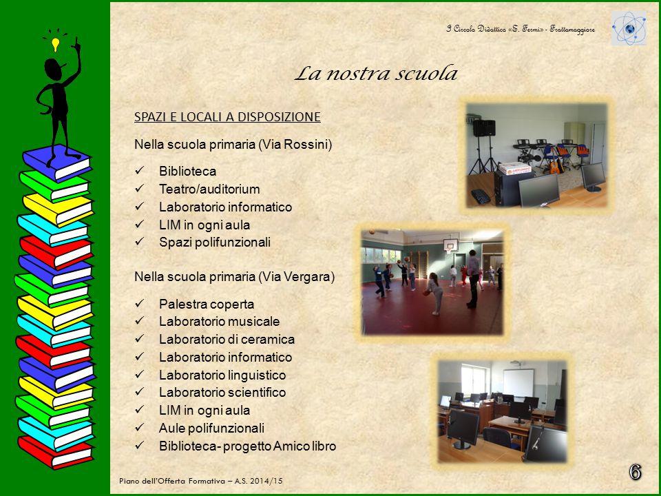 La nostra scuola I Circolo Didattico «E. Fermi» - Frattamaggiore Piano dell'Offerta Formativa – A.S. 2014/15 POPOLAZIONE SCOLASTICA Nr totale alunni d