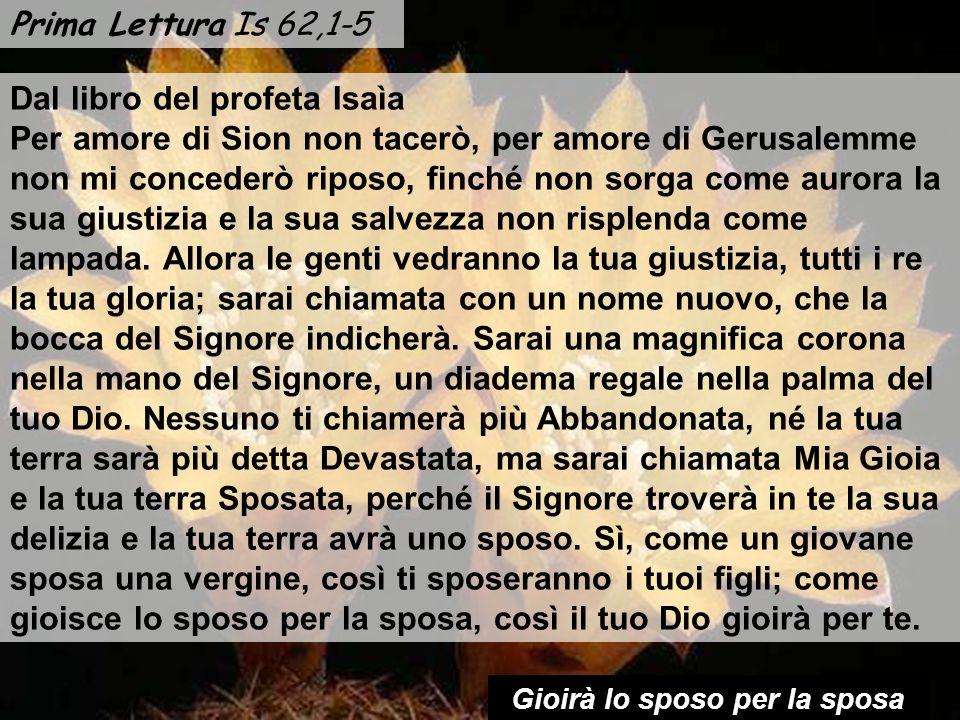 Anno C 20 gennaio 2013 Domenica II tempo ordinario Musica: Salmo 95.