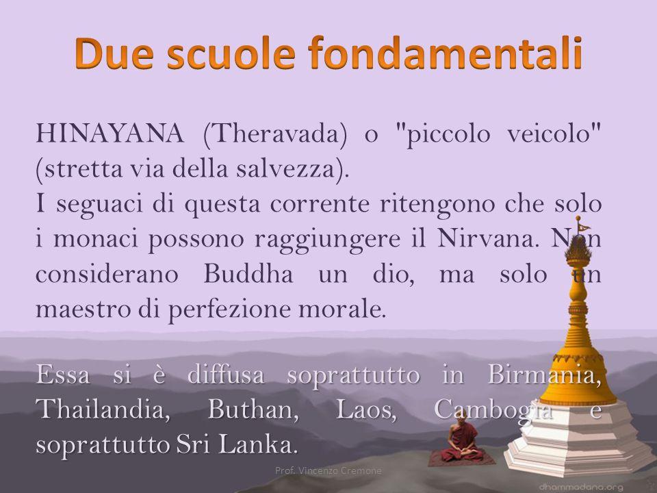 HINAYANA (Theravada) o