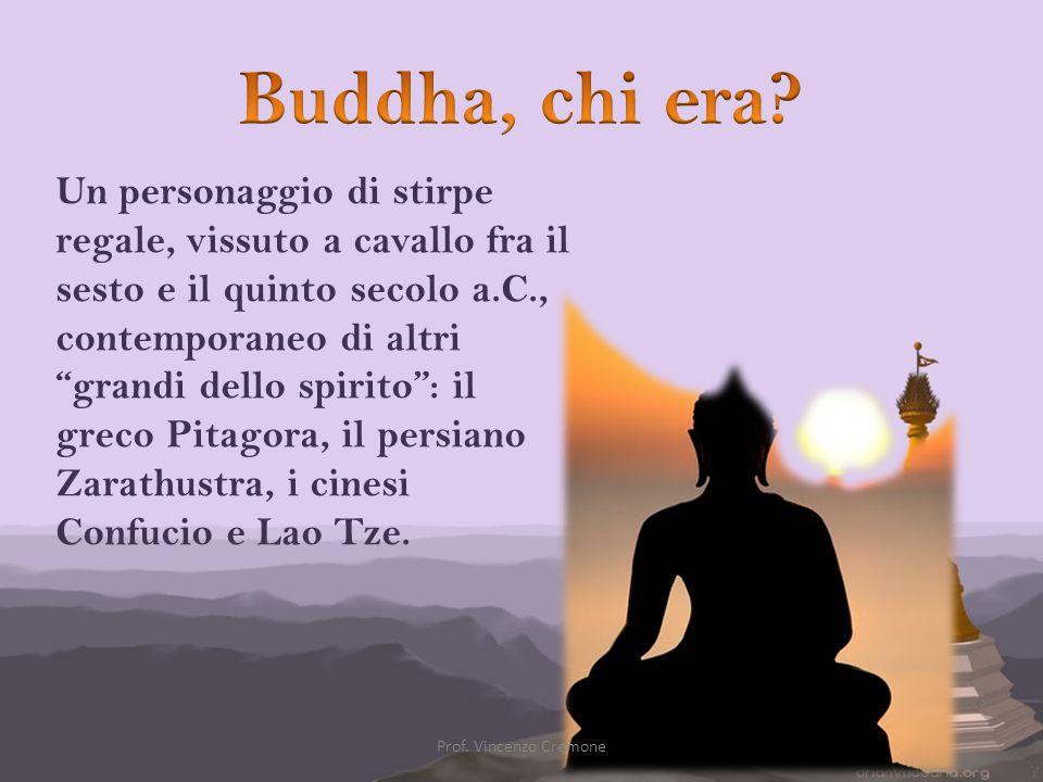 Siddh ā rtha Gautama Śā kyamuni meglio conosciuto come il Buddha (Lumbini, 566 a.C.