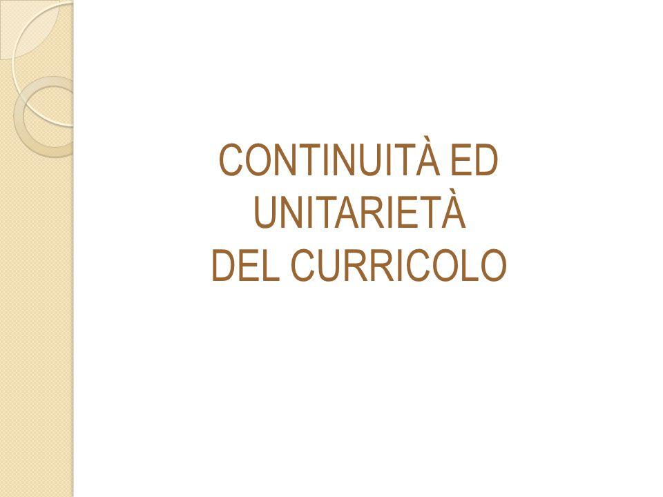 L itinerario scolastico dai tre ai quattordici anni, pur abbracciando tre tipologie di scuola caratterizzate ciascuna da una specifica identità educativa e professionale, è progressivo e continuo.