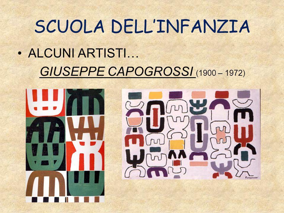 SCUOLA DELL'INFANZIA ALCUNI ARTISTI… GIUSEPPE CAPOGROSSI (1900 – 1972)