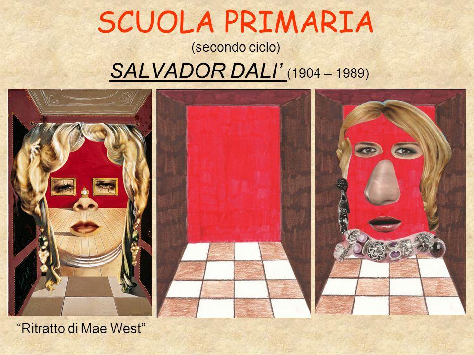 SCUOLA PRIMARIA (secondo ciclo) SALVADOR DALI' (1904 – 1989) Ritratto di Mae West