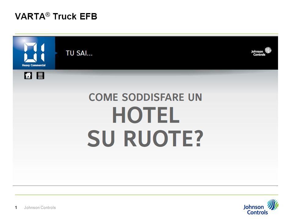 Johnson Controls2 VARTA ® Truck EFB