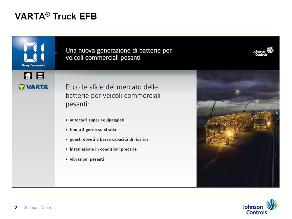 Johnson Controls3 VARTA ® Truck EFB