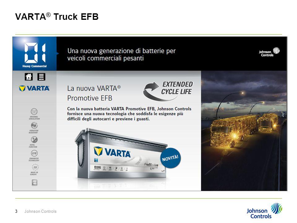 Johnson Controls4 VARTA ® Truck EFB