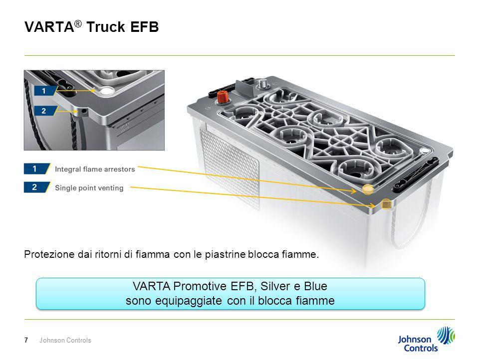 Johnson Controls18 VARTA ® Truck EFB