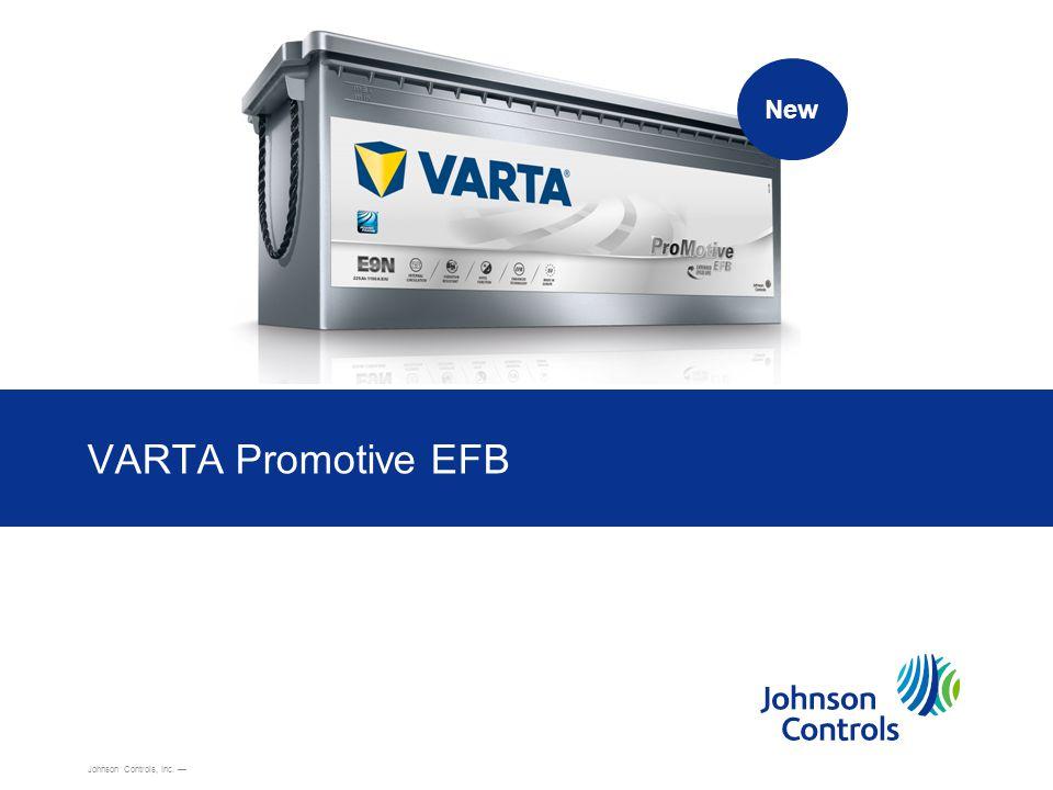 Johnson Controls19 VARTA ® Truck EFB