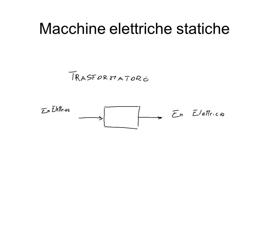 Macchine elettriche statiche